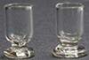 Dollhouse Miniature Glass Goblets, 2/Pk