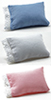 Dollhouse Miniature Pillow, assorted Blue, Pink, White