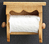 Dollhouse Miniature Paper Towels & Holder