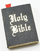 Dollhouse Miniature Holy Bible