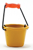 Dollhouse Miniature Bucket, Assorted Yellow Or Green