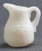 Dollhouse Miniature White Pitcher