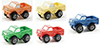 Dollhouse Miniature Toy Truck, 1Pc Assorted Red, Orange, Yellow