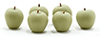 Dollhouse Miniature Green Apples, 6Pc
