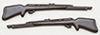 Dollhouse Miniature Rifles, 2/Pk