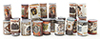 Dollhouse Miniature Country Store Grocery Cans, 24/Pk