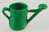 Dollhouse Miniature Watering Can, Green