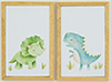 Dinosaur Picture Set of 2