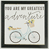 Bike Picture, 1 Piece, Black Frame