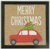 Christmas Car with Tree Picture, 1 Piece