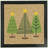 Christmas Trees Picture, 1 Piece