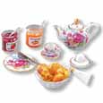 Dollhouse Miniature Continental Breakfast Set