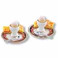 DOLLHOUSE MINIATURE BREAKFAST FOOD