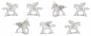 Dollhouse Miniature Micro-Mini Pegasus, 12pc