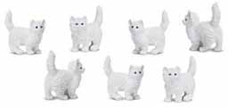 Dollhouse Miniature Micro-Mini Kitten, 12pc