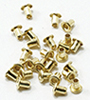 Dollhouse Miniature Small Eyelets, 110/Pk