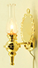 Dollhouse Miniature Wall Sconce