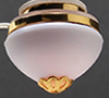 Dollhouse Miniature Ceiling Fixture