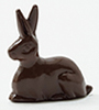 Dollhouse Miniature Chocolate Bunny