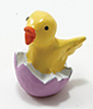 Dollhouse Miniature Chick In Egg