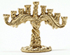 Dollhouse Miniature Menorah