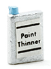 Dollhouse Miniature Paint Thinner