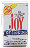 Dollhouse Miniature Joy Of Cooking Book