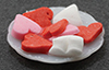 Dollhouse Miniature Heart Cookies On Plate